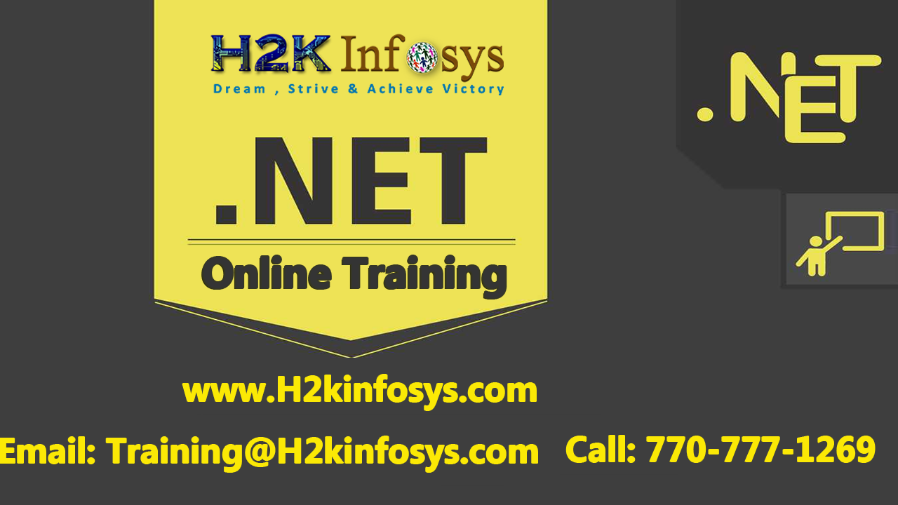 .Net Online Training-Attend free DEMO classes